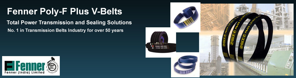 Fenner Poly-F Plus V-Belts dealers in vadodara